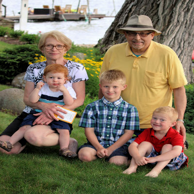 Bampa-with-grandkids
